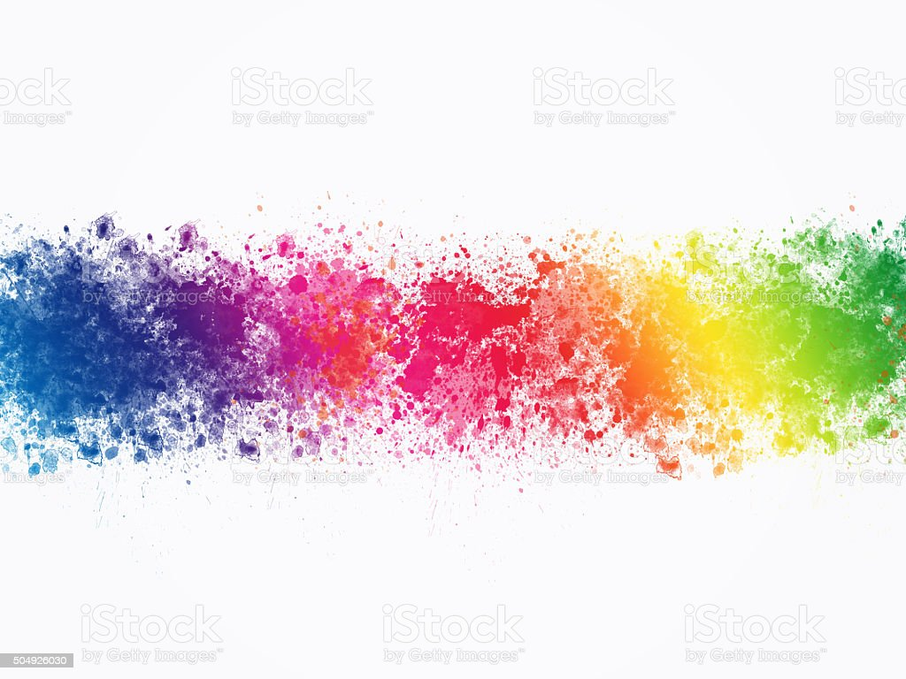 Abstract Artistic Watercolor Splash Background Stock ...