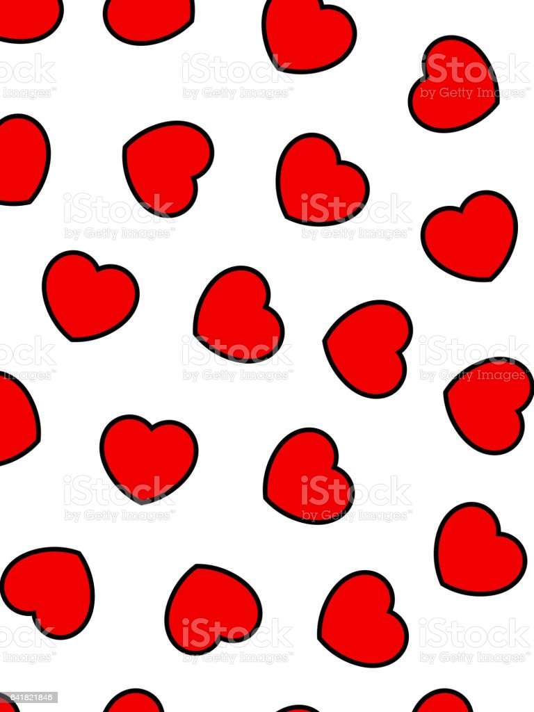 Abstract Background For Saint Valentines Holiday High Definition