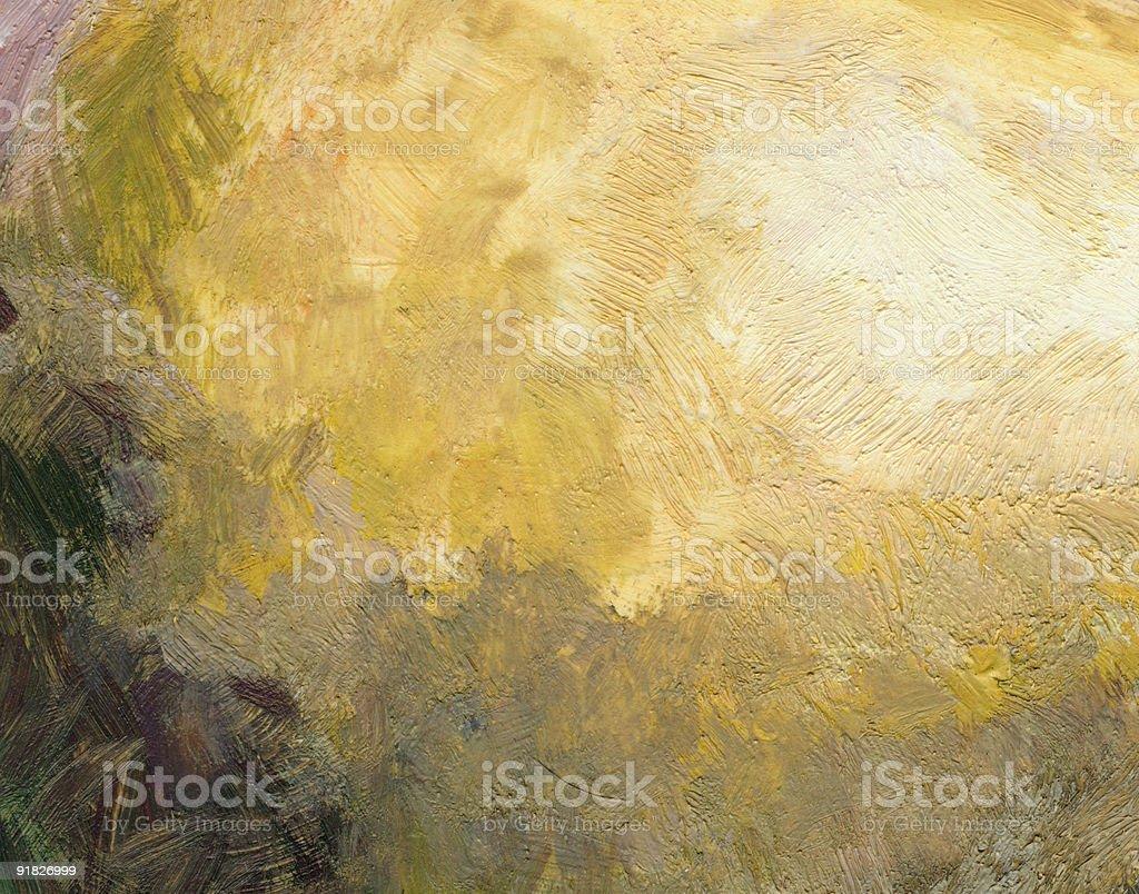 Abstract Background, Golden Yellow vector art illustration