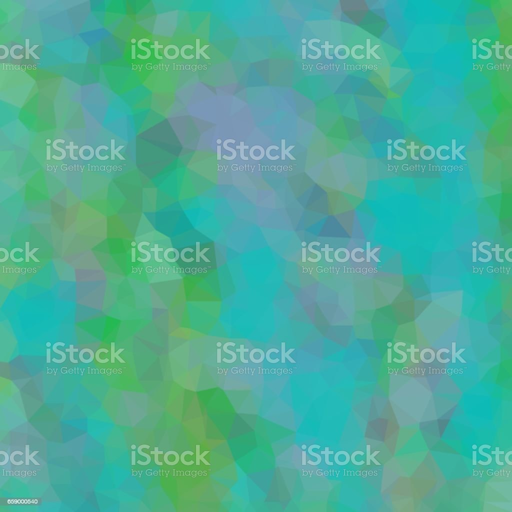 Abstract background of blue and green and gray colors of light and dark fragments in the style of low-poly royalty-free abstract background of blue and green and gray colors of light and dark fragments in the style of lowpoly stock vector art & more images of abstract