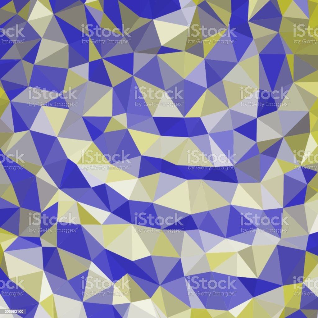 Abstract background of blue and yellow and white colors of light and dark fragments in the style of low-poly royalty-free abstract background of blue and yellow and white colors of light and dark fragments in the style of lowpoly stock vector art & more images of abstract