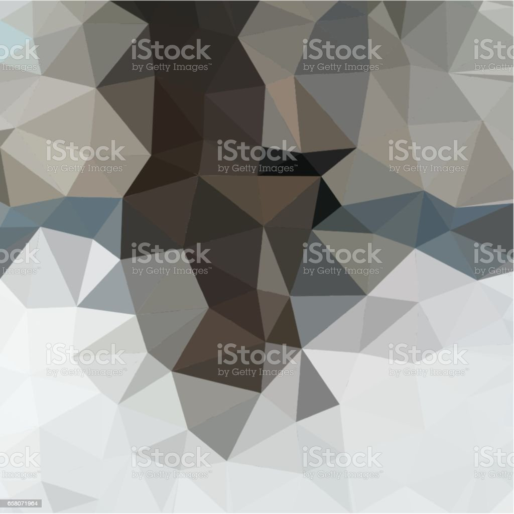 Abstract background of gray and brown and beige color light and dark fragments in the style of low-poly royalty-free abstract background of gray and brown and beige color light and dark fragments in the style of lowpoly stock vector art & more images of abstract
