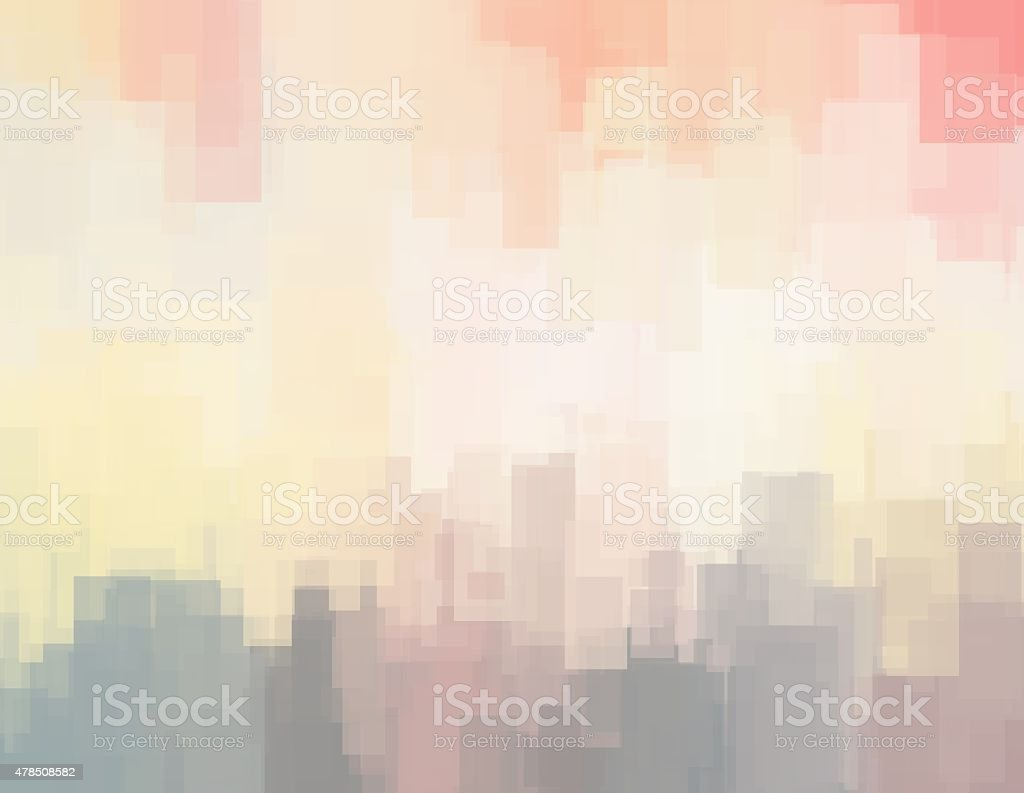 Abstract background or texture with geometric objects vector art illustration