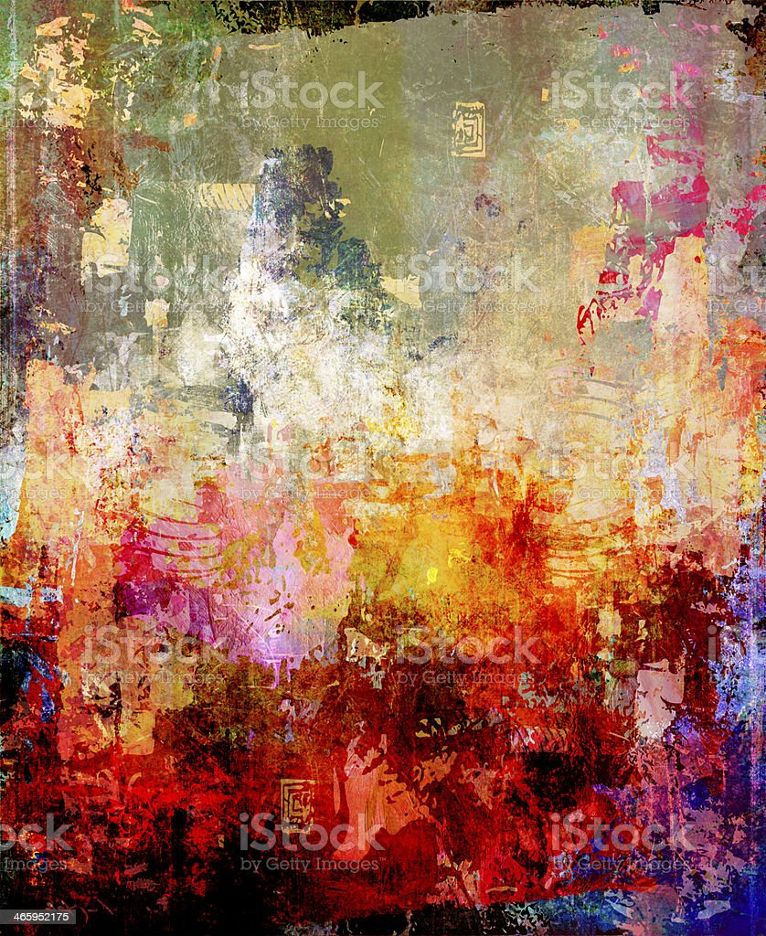 abstract background painting vector art illustration