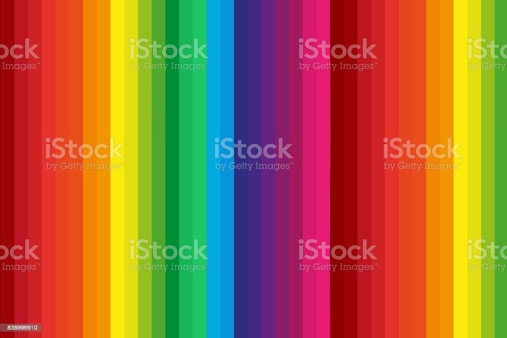 Espectro de arco iris de fondo abstracto - ilustración de arte vectorial