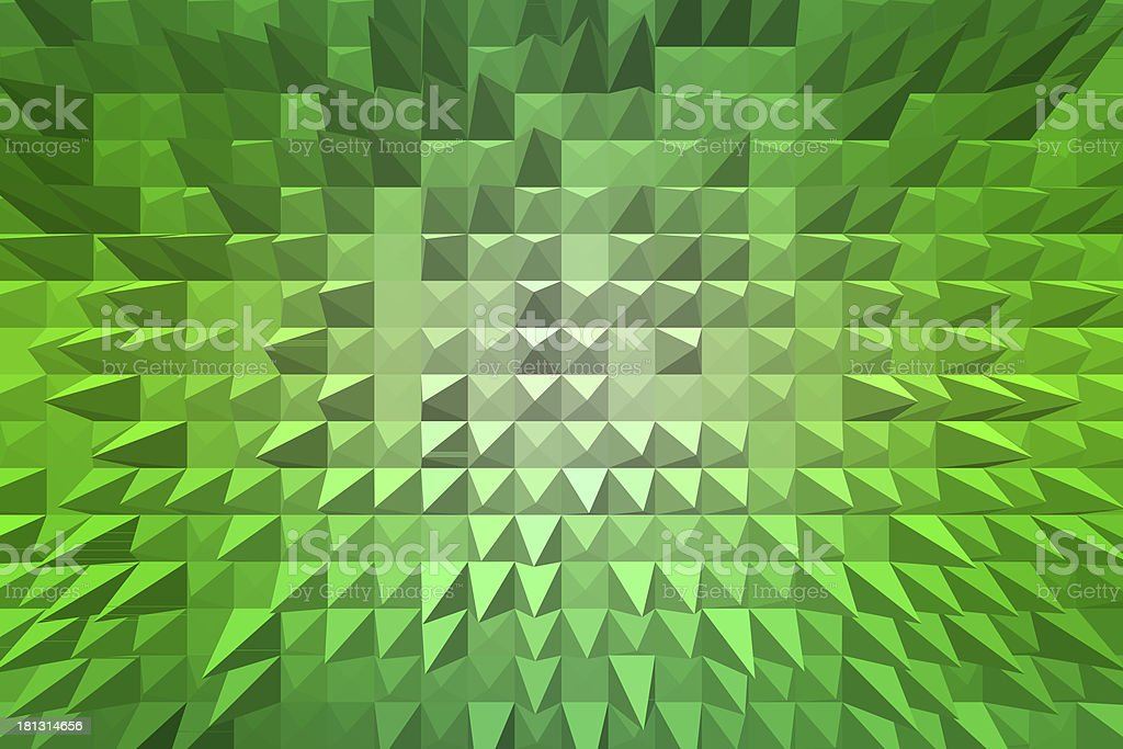abstract background with pyramid extrude royalty-free stock vector art