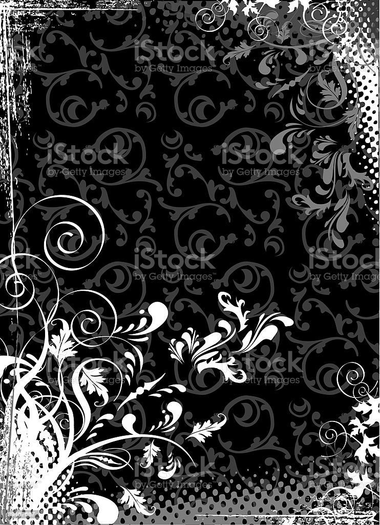 Abstract Black  Abstract stock illustration
