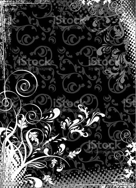 Abstract Black Stock Illustration - Download Image Now