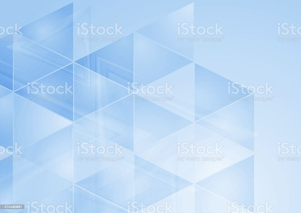 Abstract blue background vector art illustration