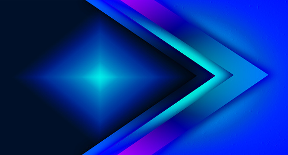 Abstract blue shade geometric background.