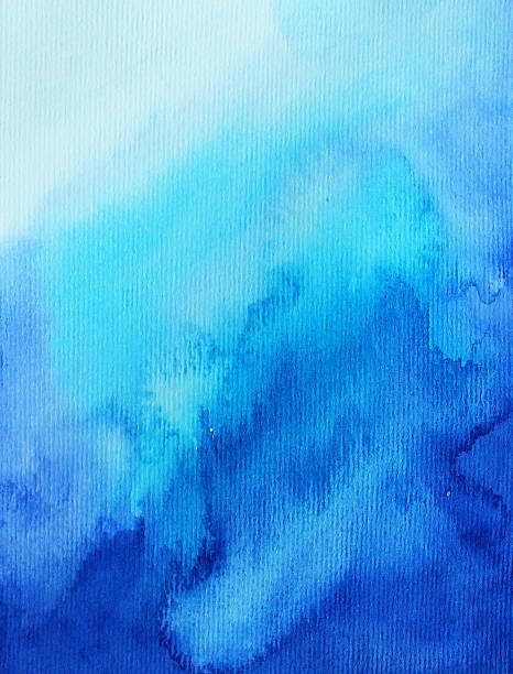 The gallery for --> Blue Ombre Watercolor Background
