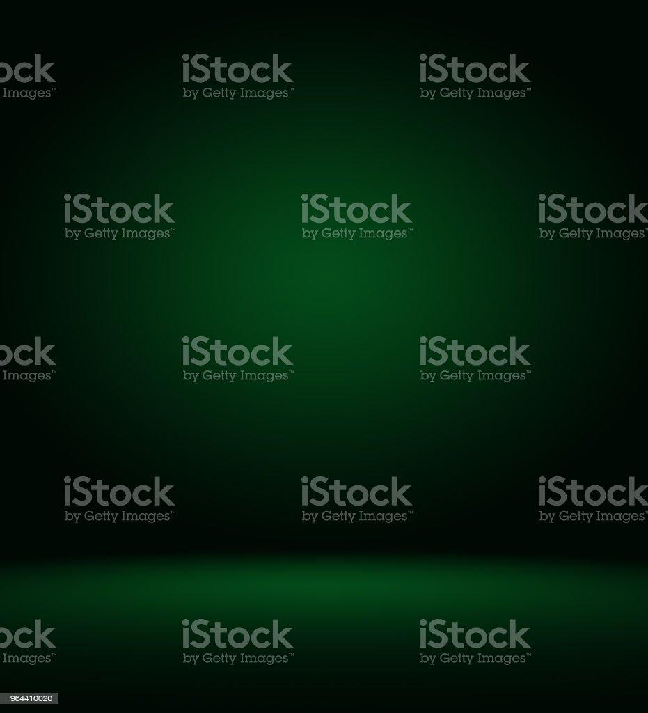 Resumo blur vazio verde gradiente Studio bem usar como plano de fundo, site template, frame, relatório de negócios - Ilustração de Beleza royalty-free