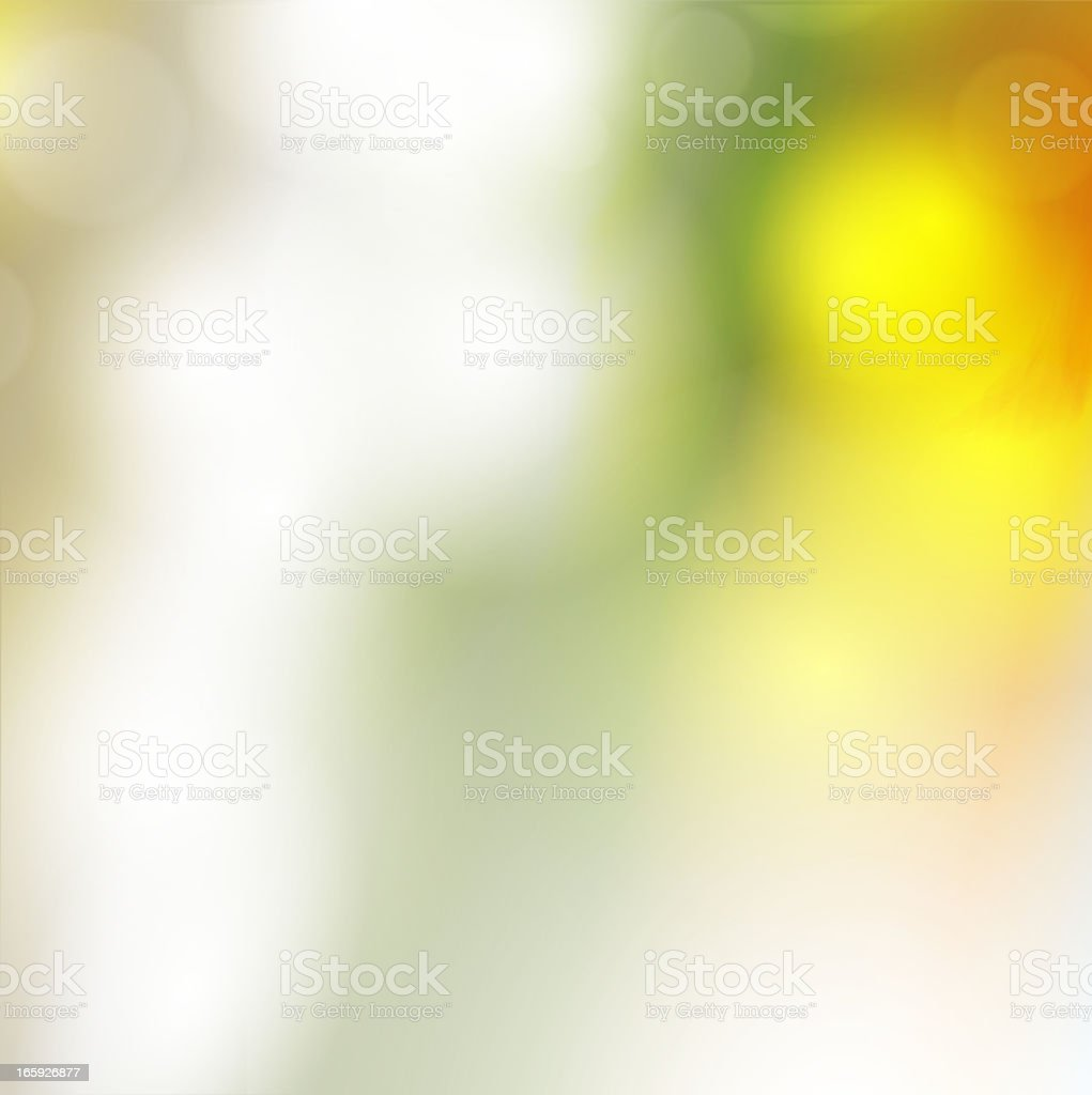 Abstract blurry lights background royalty-free stock vector art