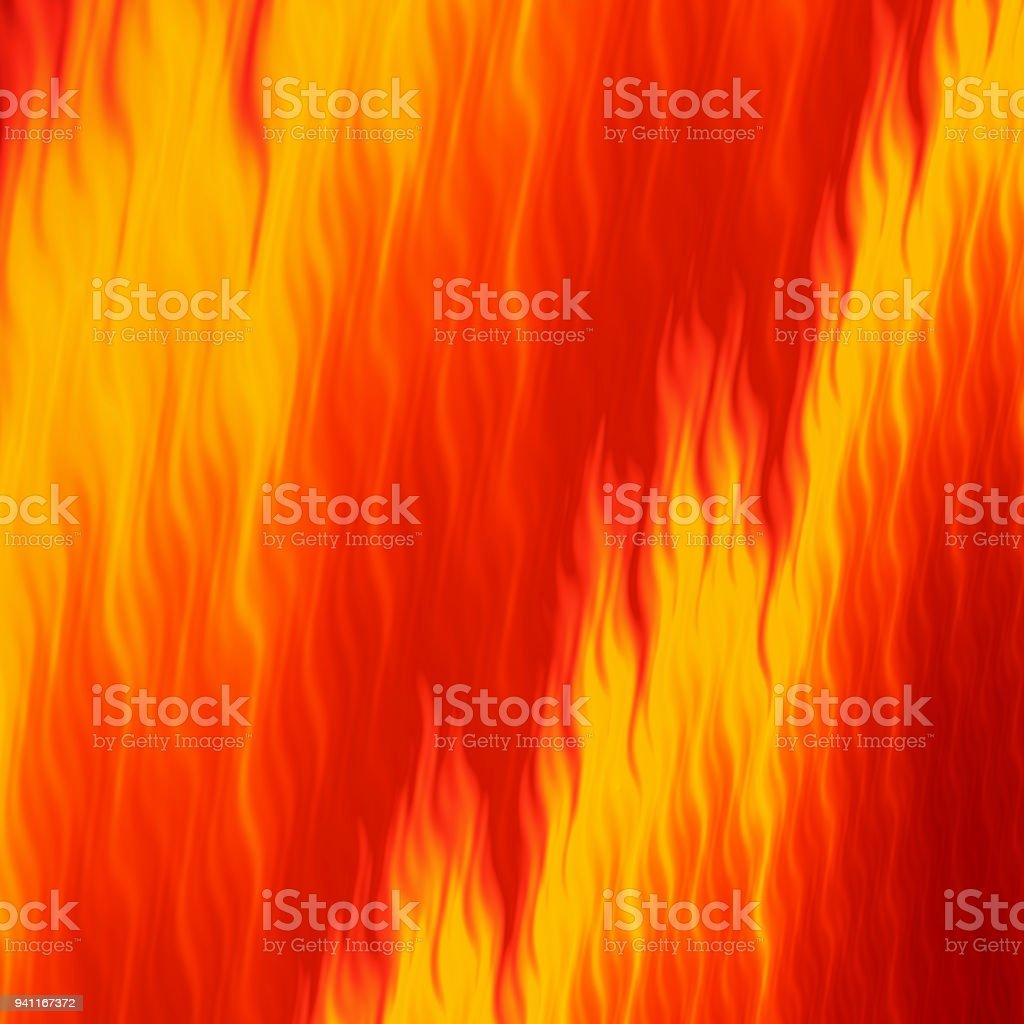 Resumen de fondo cuadrado de llama de fuego brillante - ilustración de arte vectorial