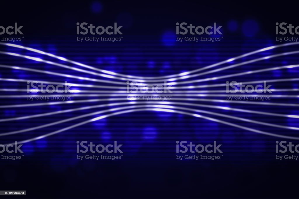 Abstract Bright Glitter Blue Background Elegant Illustration For