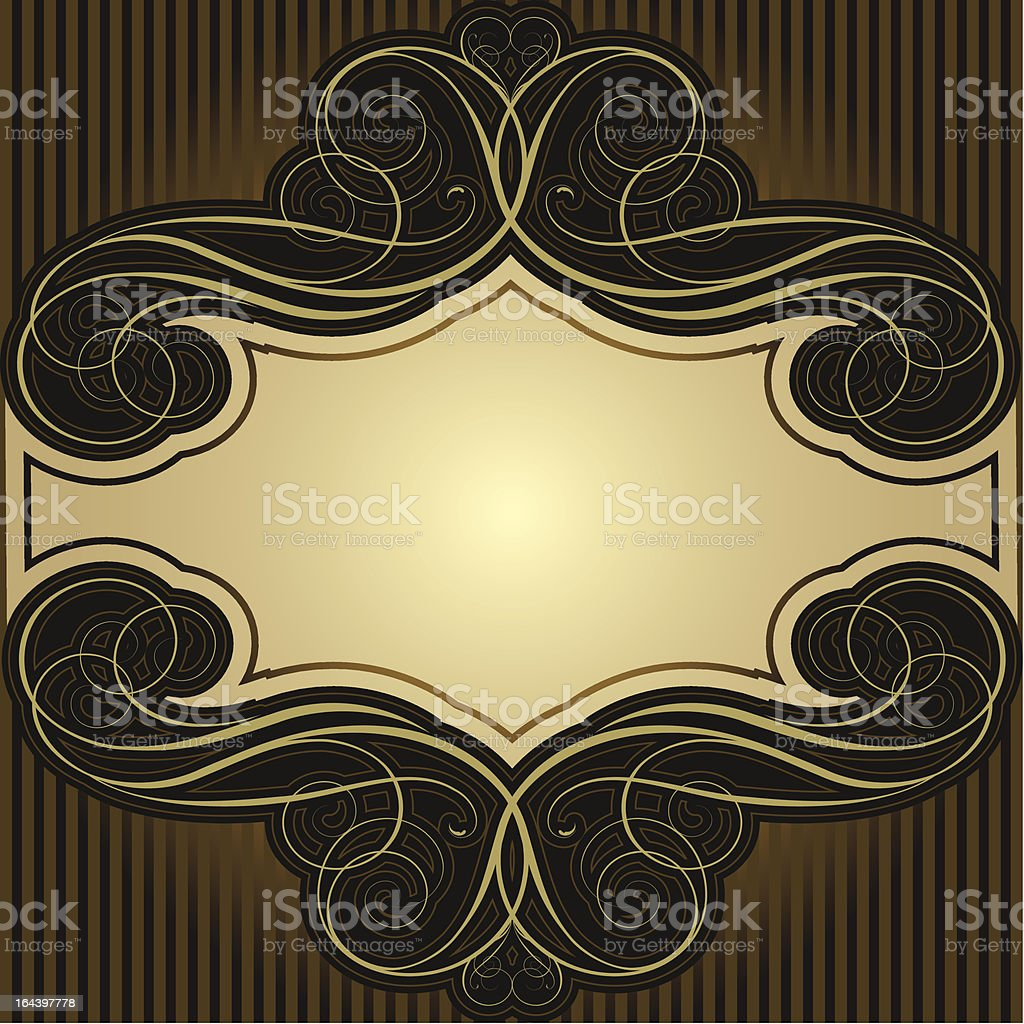 Abstract brown frame royalty-free abstract brown frame stock vector art & more images of abstract