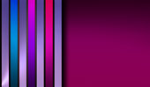 istock Abstract color gradient futuristic technology background with vertical lines. 1279118327
