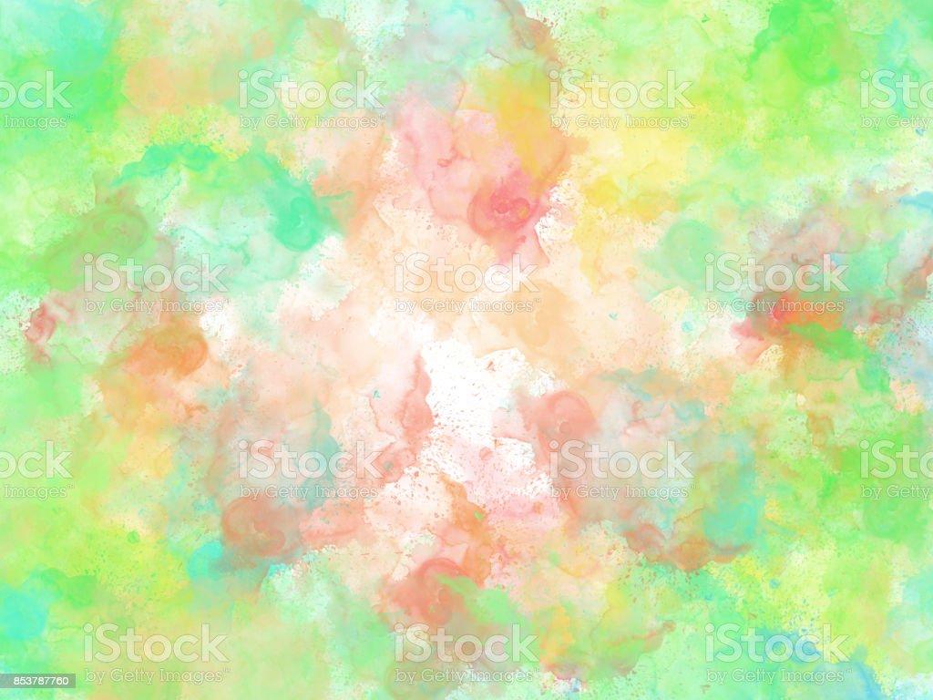 Abstrait Colore Fond De Peinture Coloree Fond Colore De Brossage Vecteurs Libres De Droits Et Plus D Images Vectorielles De Abstrait Istock