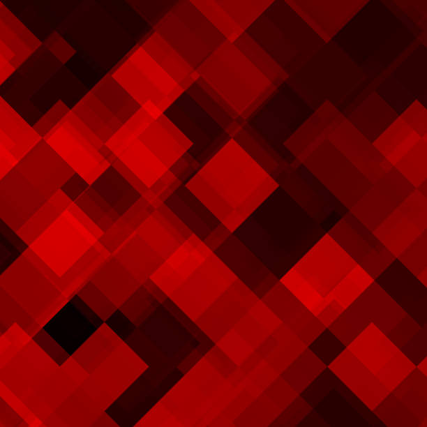 Abstract colorful background from triangle vector art illustration