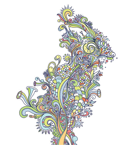 Abstract Colorful Design vektorkonstillustration