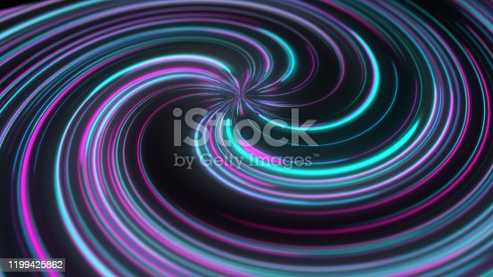 abstract colorful neon light swril background
