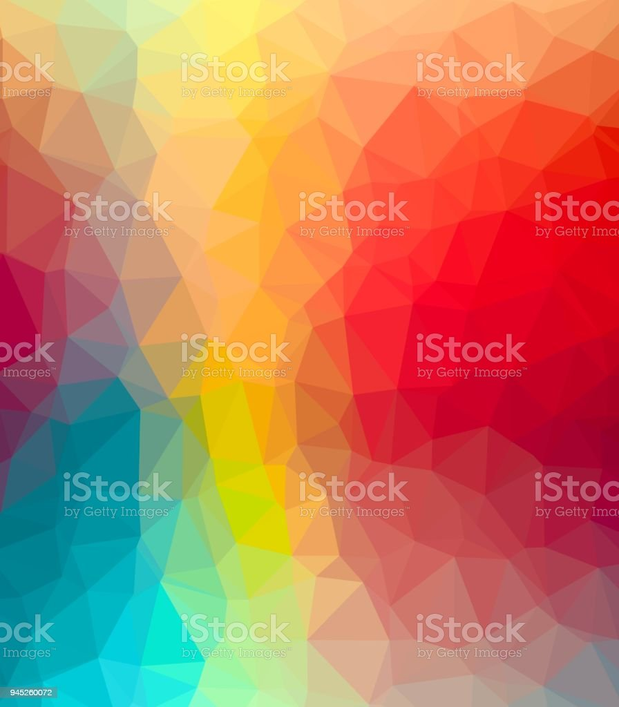Abstract Colorful Polygon Corporate Design Background Stock Vector ...