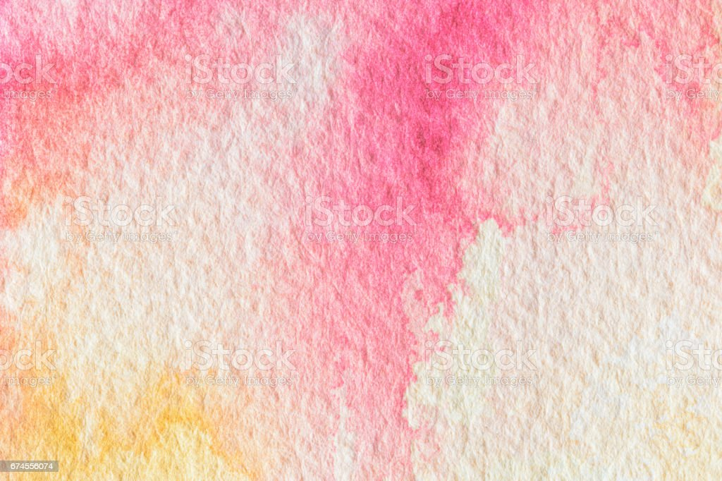 Abstract colorful watercolor for background. vector art illustration