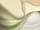 Abstract creative fragility and softness beige curve lines background.