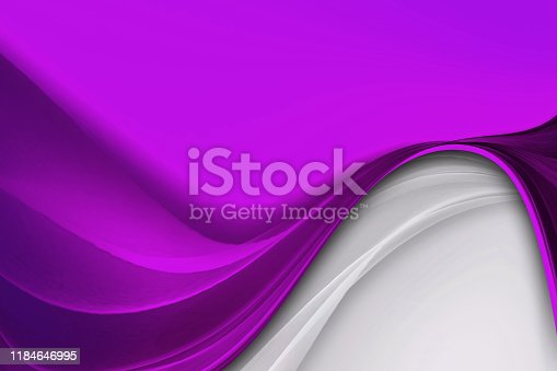 Abstract creative purple and white curve lines.