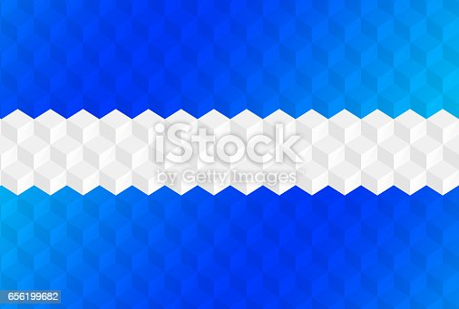 istock Abstract cubes retro styled colorful background 656199682