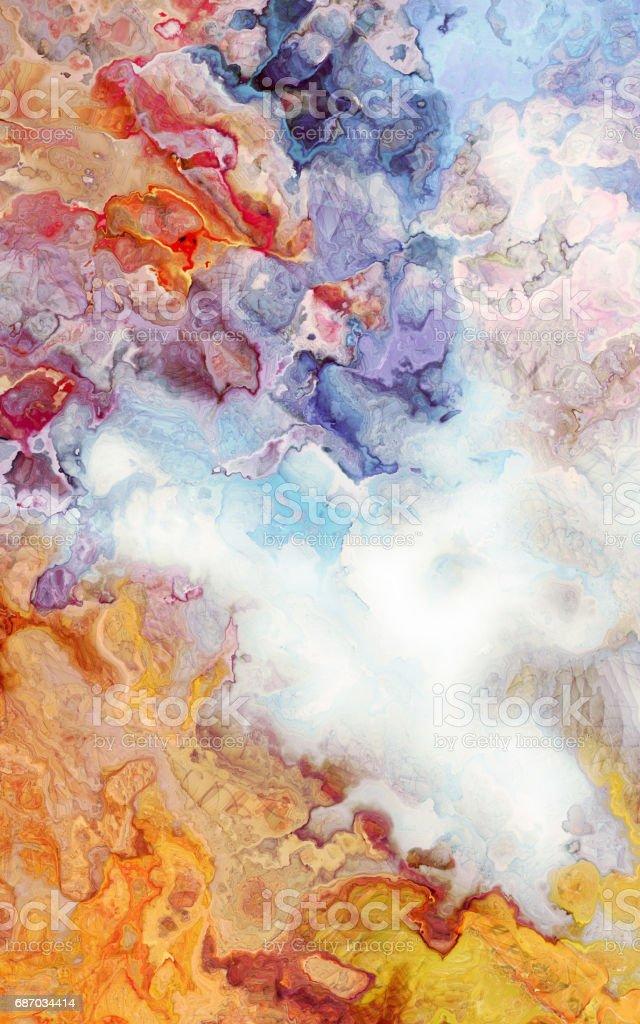 Abstrakte Kurve Hintergrund Tropfen Aquarell Karte und geometrische Kunst Lizenzfreies abstrakte kurve hintergrund tropfen aquarell karte und geometrische kunst stock vektor art und mehr bilder von abstrakt