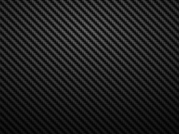 abstract dark background carbon fiber pattern vector art illustration