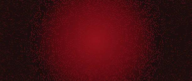 抽象深紅色漸變設計向量藝術插圖