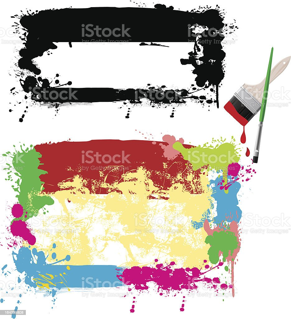 Abstract design elements. royalty-free stock vector art