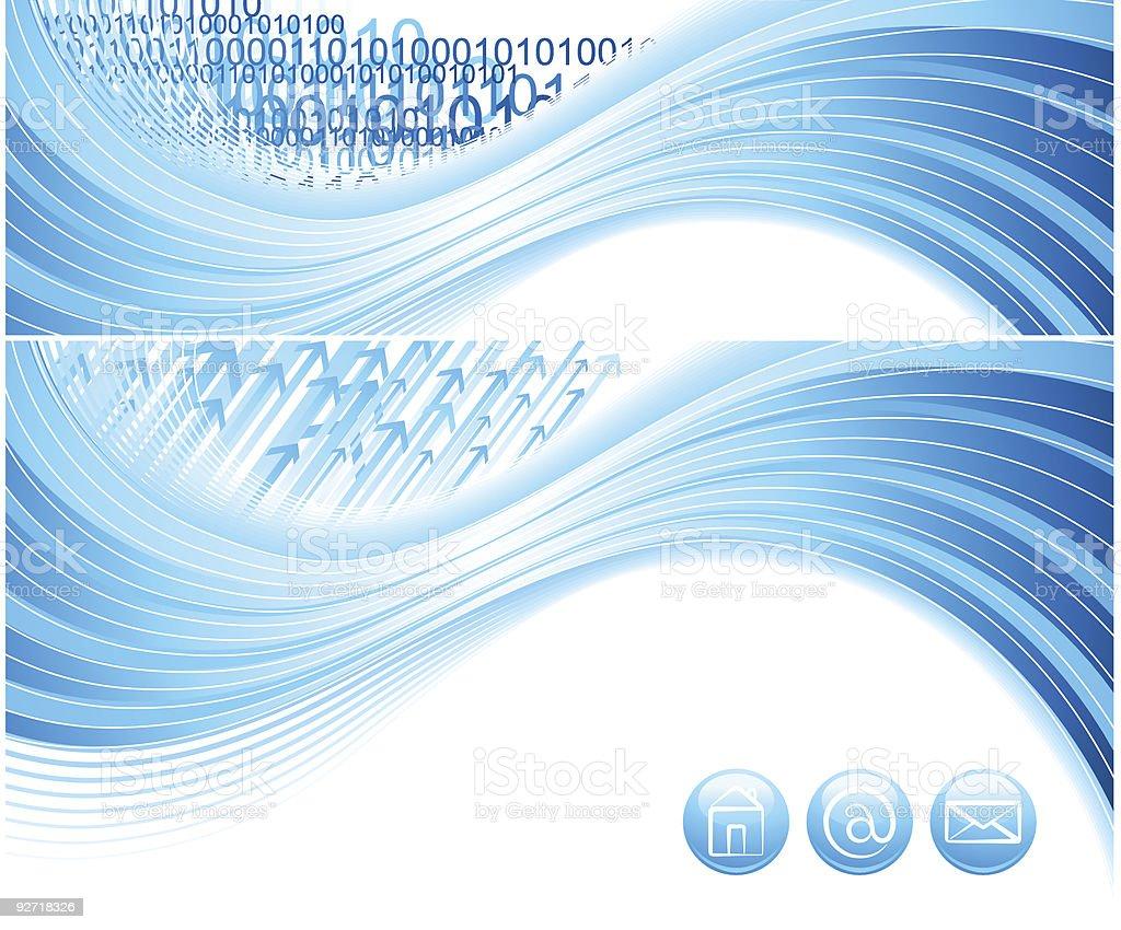 Abstract digital design. royalty-free stock vector art