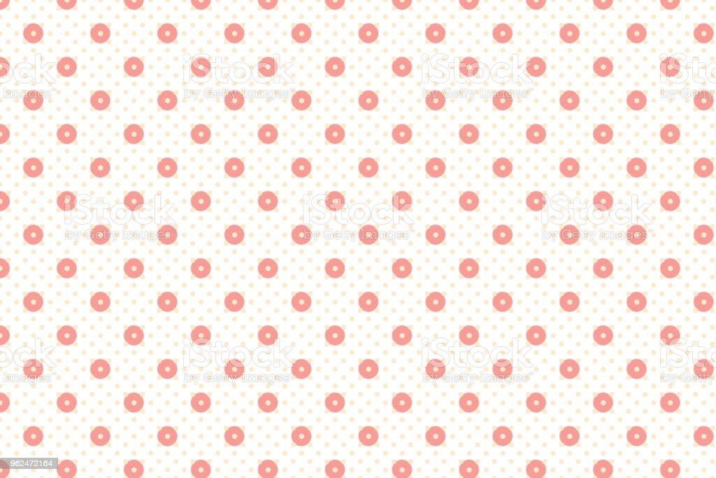 Modele Point Et Cercle A Forme Geometrique Abstrait Avec Vieux Rose