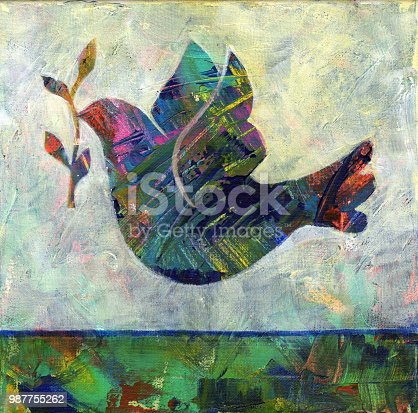 istock Abstract Dove 987755262