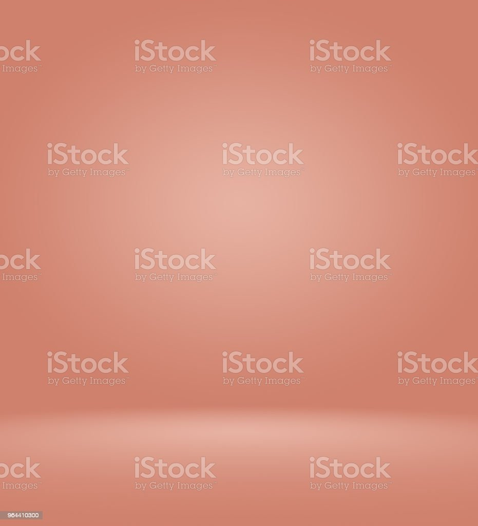 Abstract empty smooth light pink studio room background, Use as montage for product display,banner,template. - Royalty-free Archival stock illustration