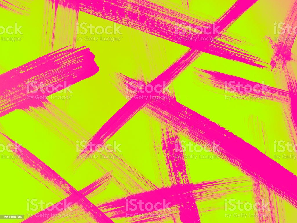Abstract Expressionist Painting vector art illustration