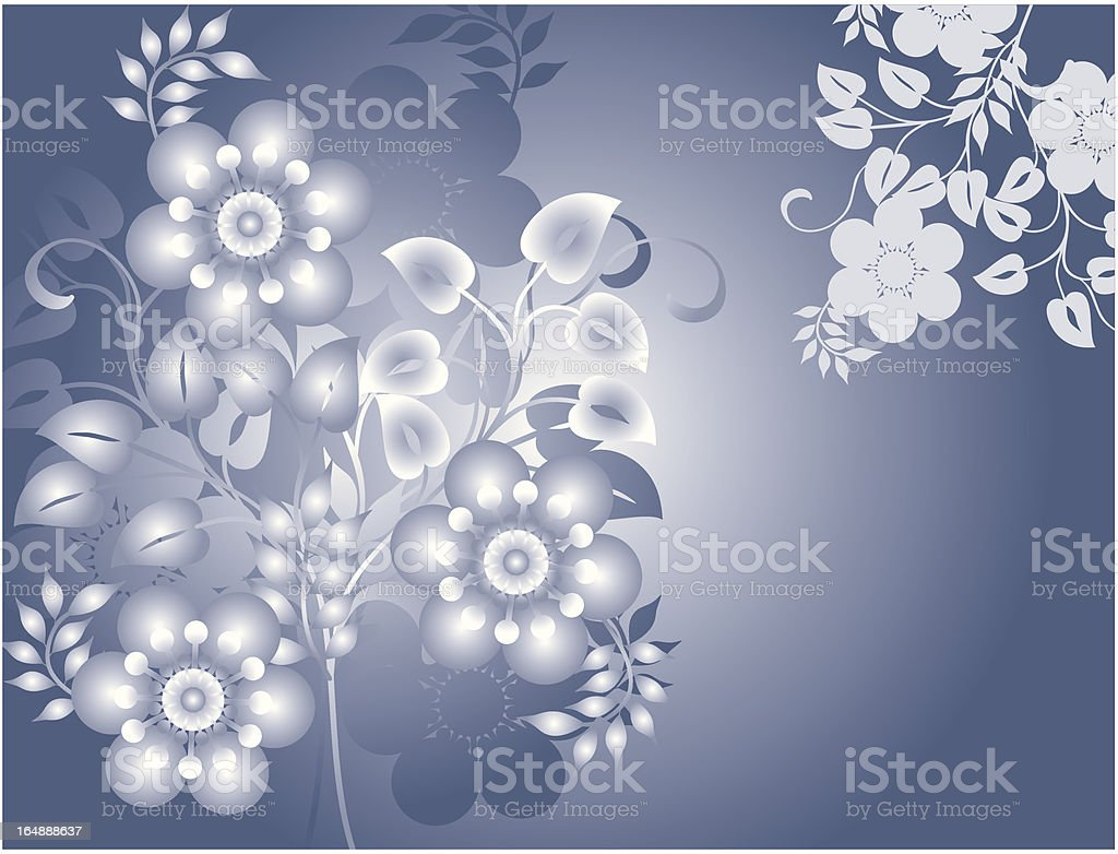 Abstract floral background, vector royalty-free abstract floral background vector stock vector art & more images of art