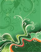 Abstract floralbackground