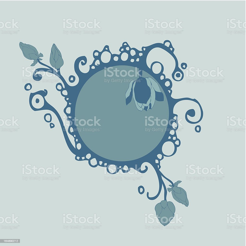 abstract frame 4 royalty-free stock vector art