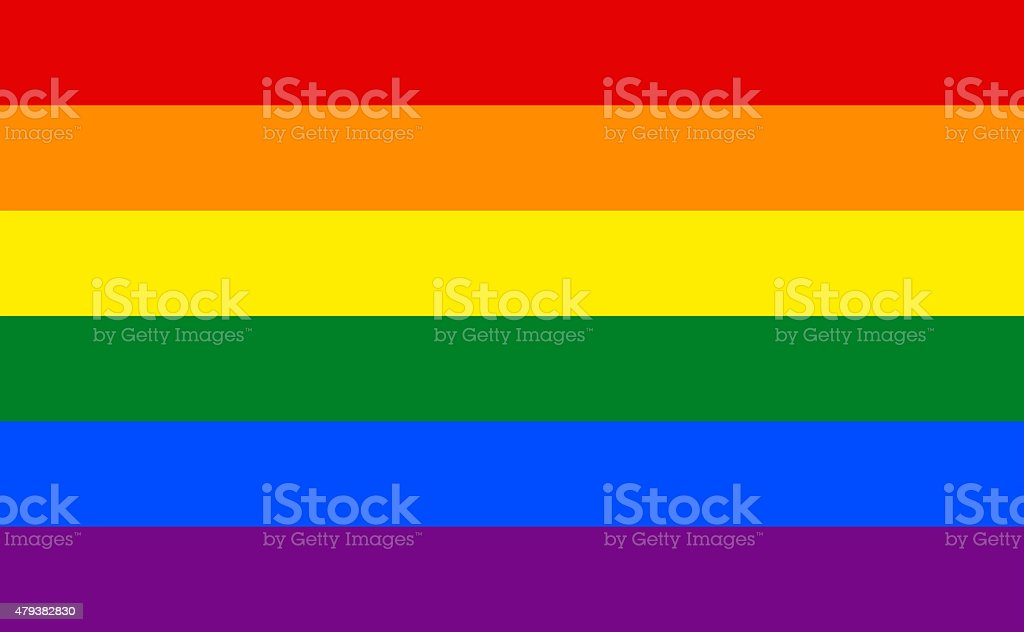 Abstract Gay Rainbow Flag Colorful Background stock photo