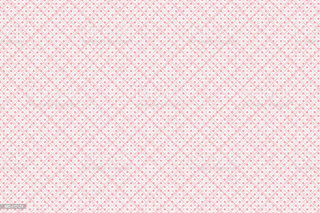 Abstract geometric shape pattern with pink pastel colour vector art illustration