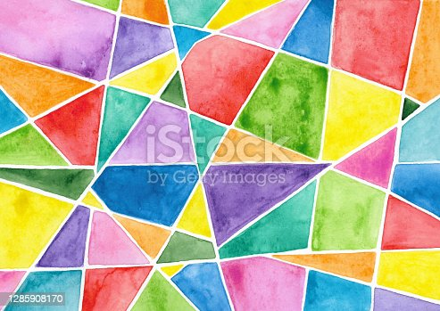 istock Abstract geometrical background 1285908170