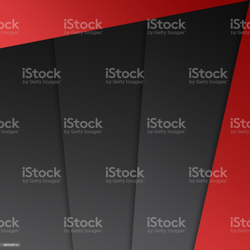 Abstract geometrical shape red grey black background royalty-free abstract geometrical shape red grey black background stock illustration - download image now