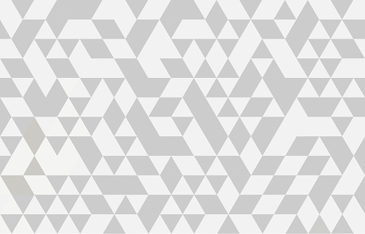 Abstract geometry  triangle  white and gray pattern