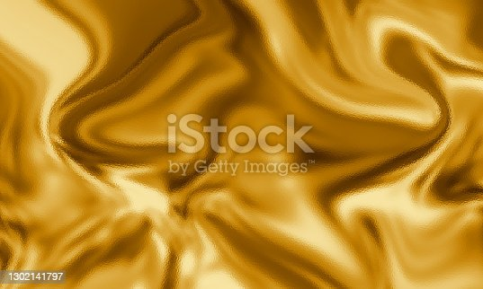 Abstract golden background. Marble texture. Gold color. Trendy color of the year 2021.