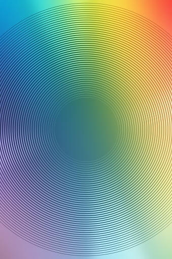 abstract gradient radial multicolor background. futuristic blur.