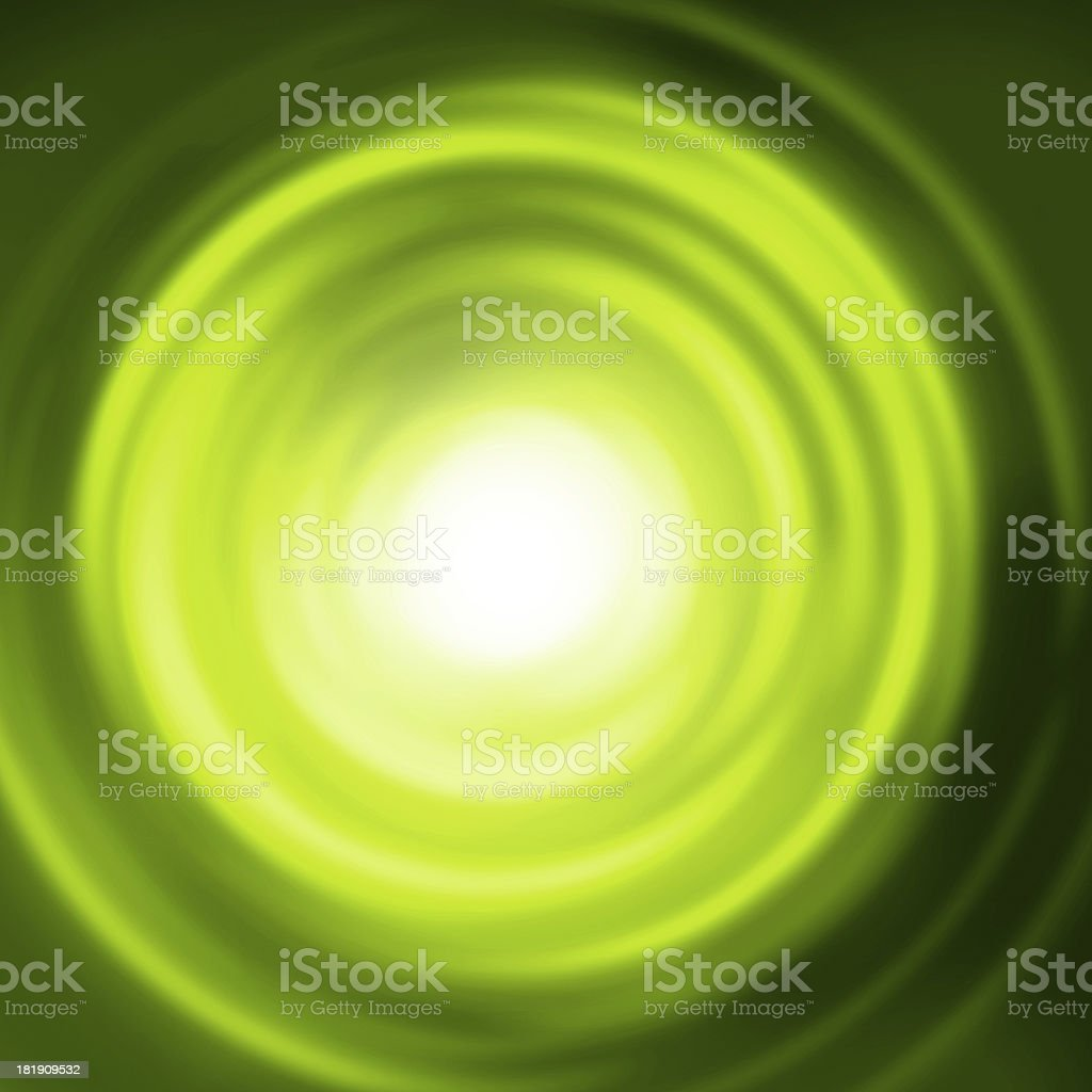 Abstract green circle background. royalty-free stock vector art